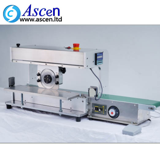 Motorized PCB depaneling machine